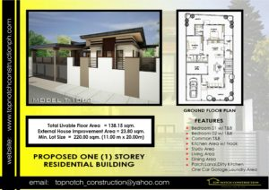 construction company philippines 39 house plan