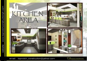 Sample House Design Philippines Kitchen Area