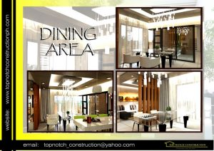 Sample House Design Philippines Dining Area