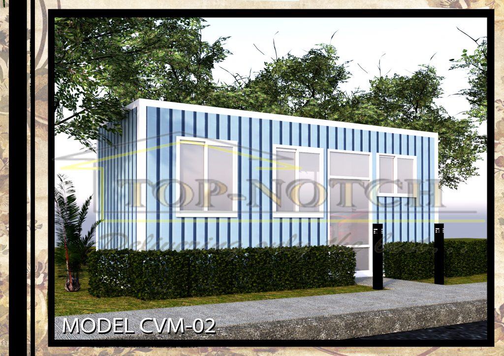 Prefab Home Model CVM-02 with 1 BR 04
