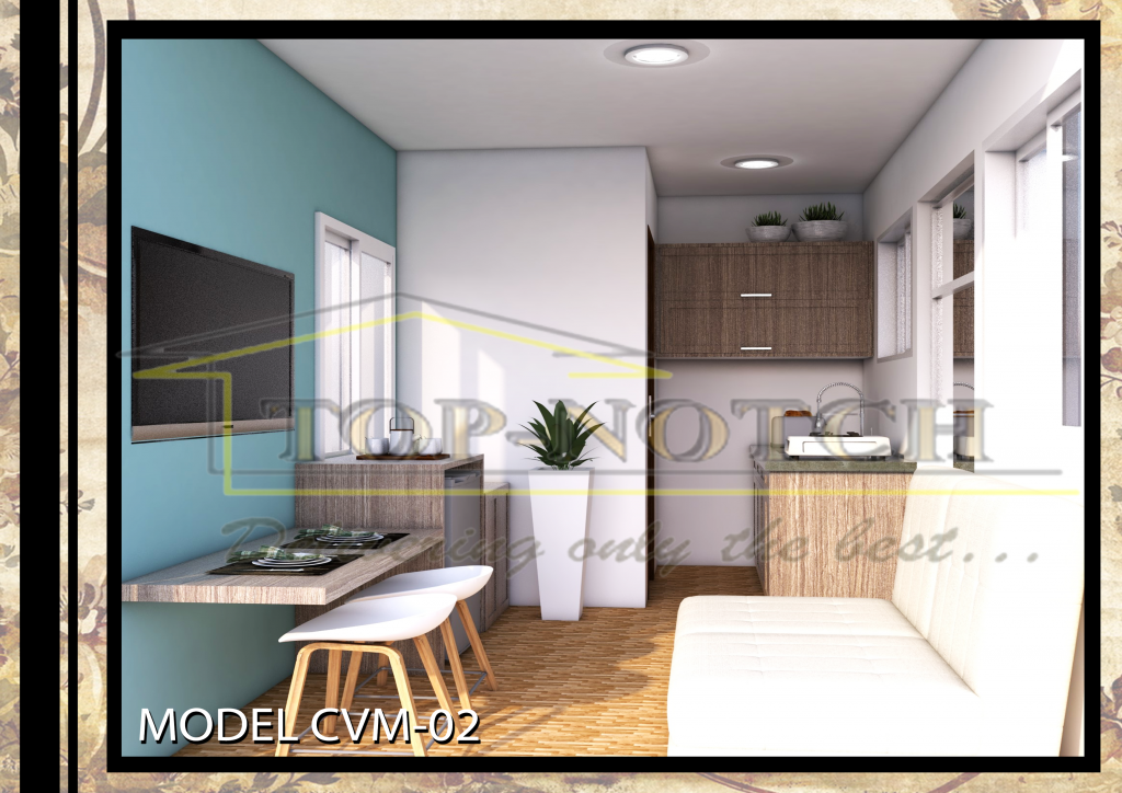 Prefab Home Model CVM-02 with 1 BR 02