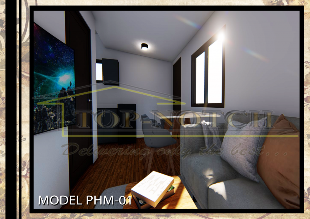 Prefab Home Model PHM-01 with 1 BR 04