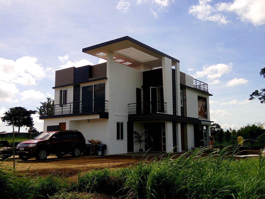 House design interior design in the philippines topnotch for Modern house design 100 sqm