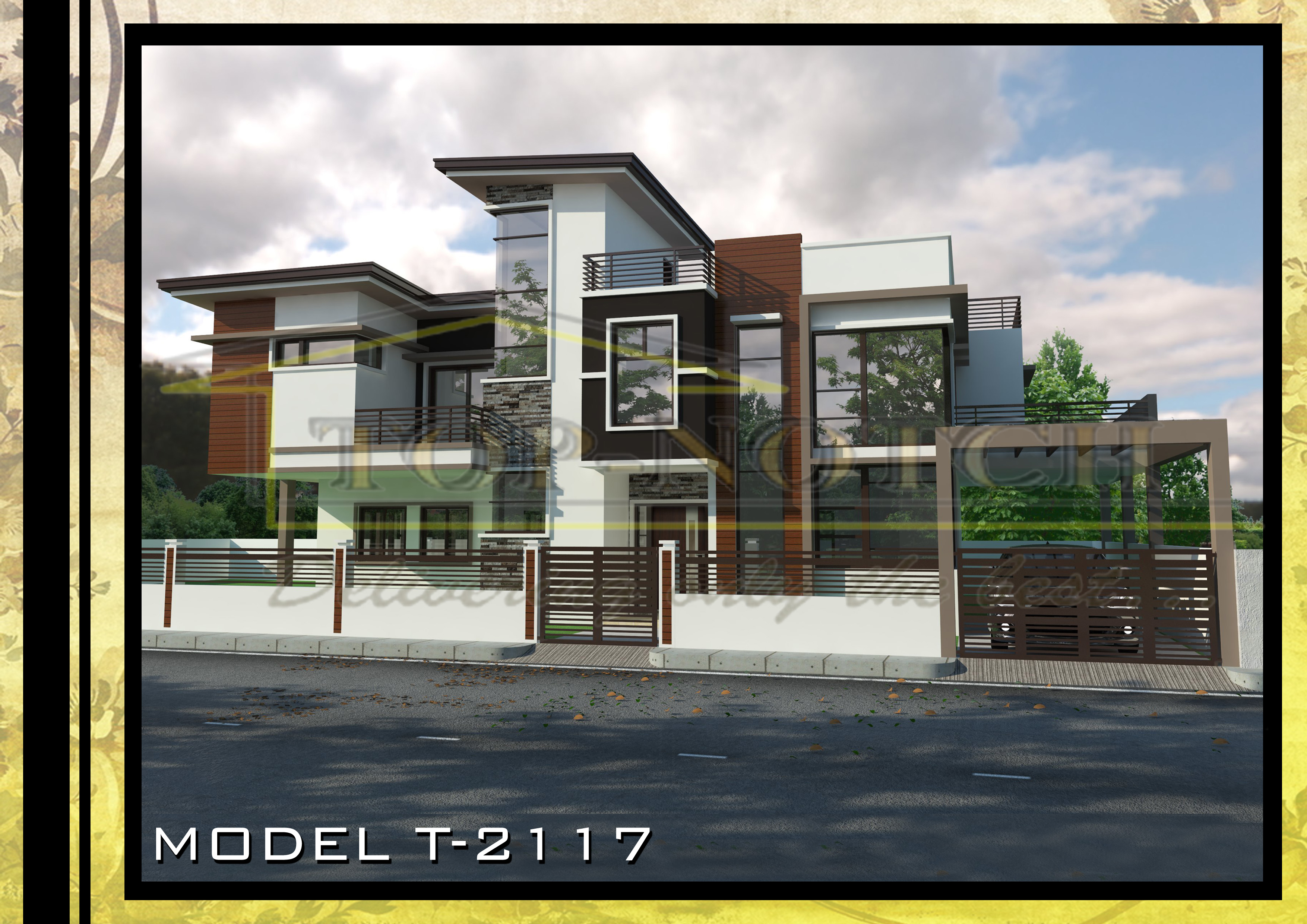 Architects Philippines 93 project house design and plan